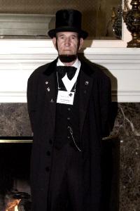 Joe Hamilton as Abraham Lincoln