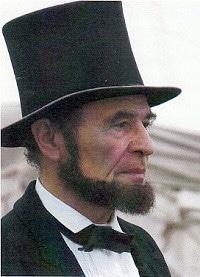 Joseph W. Ames as Abraham Lincoln