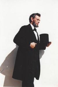 B.F. McClerren as Abraham Lincoln