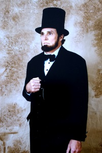 Charles Kleiner as Abraham Lincoln