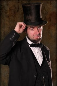 Rev. Christopher Small as Abraham Lincoln