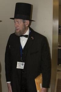 Cortland Savage as Abraham Lincoln