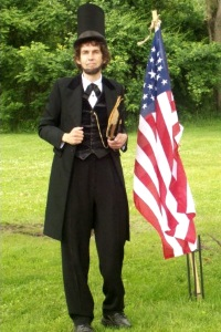 Danny Russel as Abraham Lincoln