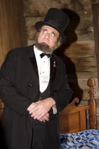 David Kreutz as Abraham Lincoln