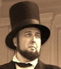 David Wolfe as Abraham Lincoln