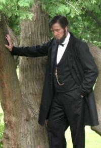 Eric Richardson as Abraham Lincoln
