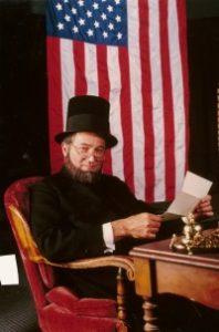 Gene Griessman as Abraham Lincoln