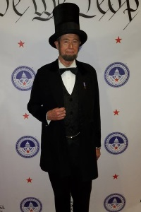 Gerald Pitts as Abraham Lincoln