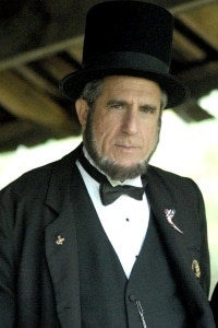 Homer Sewell as Abraham Lincoln