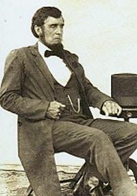 Jim Sayre as Abraham Lincoln