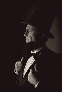 Larry Elliott as Abraham Lincoln