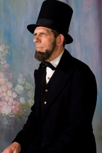 Mark Rehagen as Abraham Lincoln