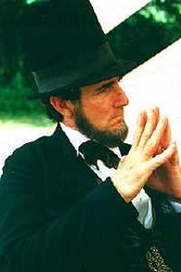 Max Daniels as Abraham Lincoln