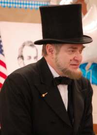 Murray Cox as Abraham Lincoln