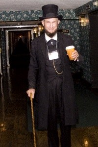 Nelson Doyle as Abraham Lincoln