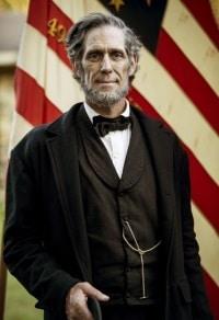Randy Duncan as Abraham Lincoln