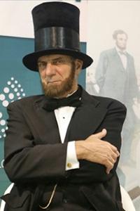Tom Katsis as Abraham Lincoln