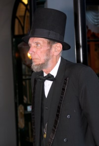 Verne Risty as Abraham Lincoln