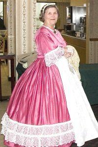 Mary Sayre at Mary Lincoln