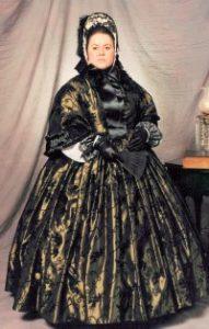 Sally Mummey Raffenello at Mary Todd Lincoln