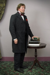 David Walker as Jefferson Davis